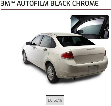 3M Black Chrome 60%