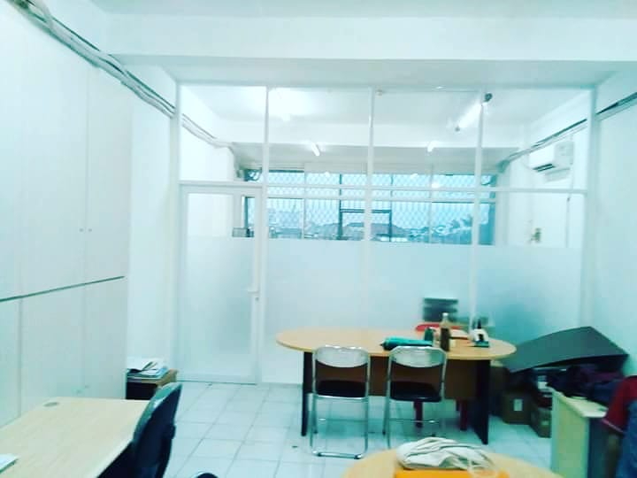 sticker sandblast office